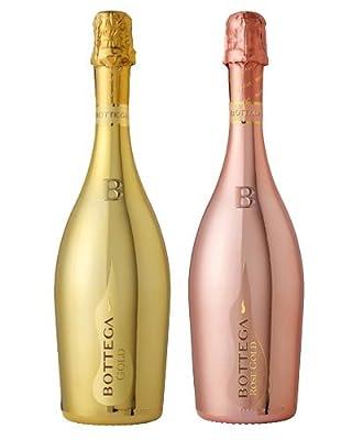Duo Of Bottega Prosecco Gold & Rose 2 x 750ml