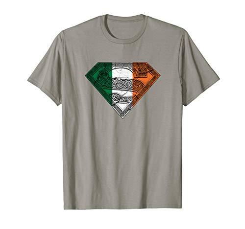 Superman Irish Celtic Shield T-Shirt