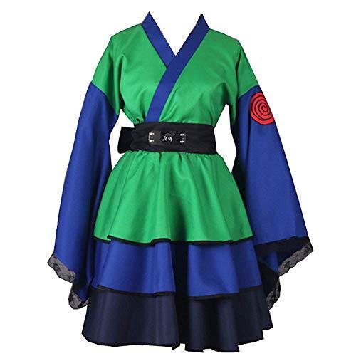 Anime Naruto Cosplay Disfraz de Halloween Lolita Kimono Vestido para Mujeres Hombres Colecci¨®n Completa