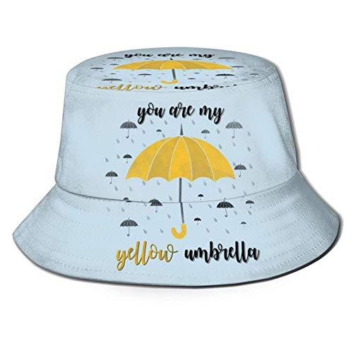 kasual Comment j'ai rencontré votre mère chapeau de seau réversible unisexe chapeau de pêcheur pliable chapeau de soleil en plein air d'été noir