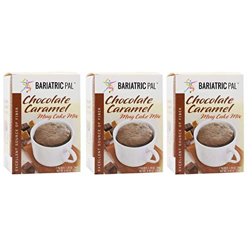 Great interest BariatricPal High Protein Mug Cake Branded goods - Mix Chocolate Caramel 3-Pa