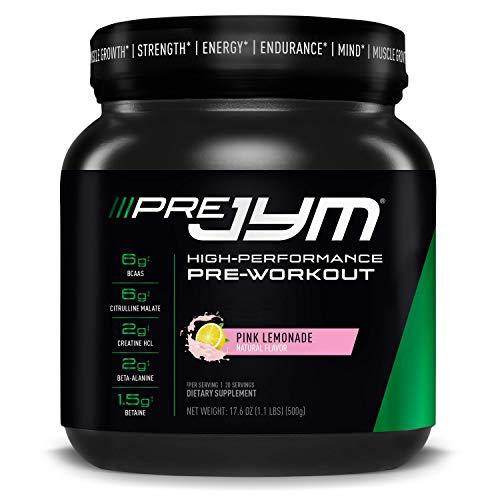 JYM Supplement Science Pre 20 Servings Pink Lemonade