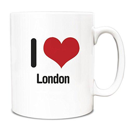 Duke Gifts I love London Mug 1611