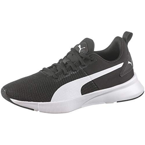 PUMA Flyer Runner, Zapatillas de Running Unisex Adulto, Negro Black White, 46 EU