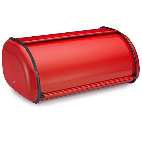 Polder 210201-30 Deluxe Bread Box Red