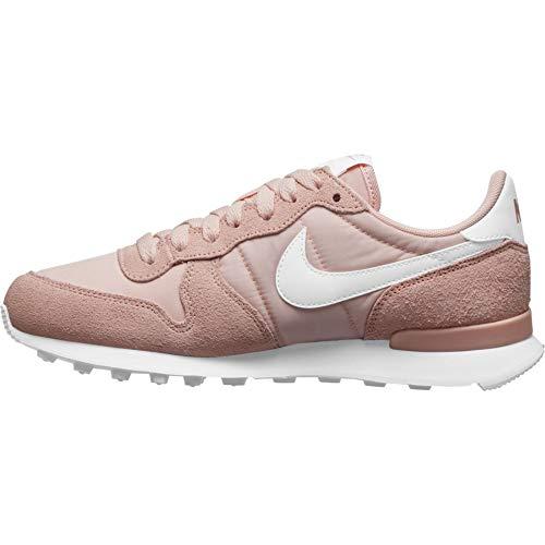 Nike Damen Internationalist Sneaker, Washed Coral/White, 40 EU