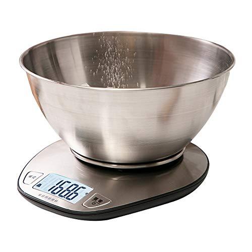 Básculas de cocina Básculas De Alimentos Baking Básculas Electrónicas para El Hogar...