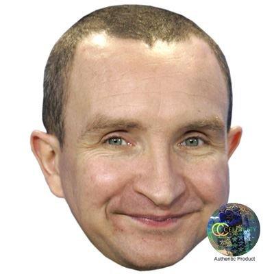Celebrity Cutouts Eddie Marsan Maske aus Karton