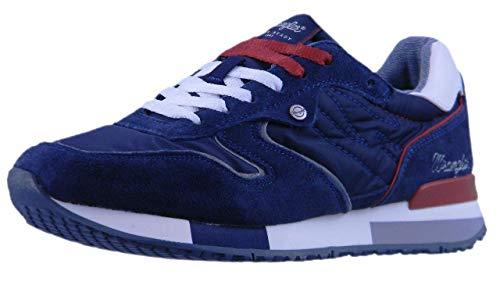 Wrangler Shoes Mod.Forest Sneaker Herren (Navy), 42