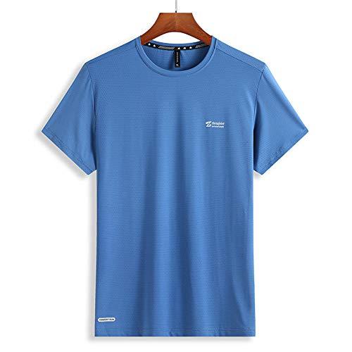 Camisetas De Manga Corta para Hombres,Camisetas Deportivas En 3D, Ropa Deportiva para Correr Al Aire Libre, Camisetas De Secado Rápido, Camisas Livianas, Patrón Cómodo 3_L