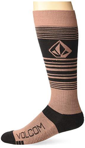 Volcom Damen Tundra TECH Snowboard-Socken, Rose Wood, X Small