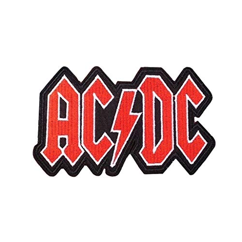 KUSTOM FACTORY Patch Rock ACDC Rouge et Noir