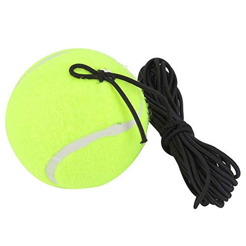 Byged Pelota de Entrenamiento de Tenis, Pelota de Entrenamiento para Principiantes de Tenis, con Cuerda de Goma elástica de 4 m, fácil de Usar, Adecuada para Principiantes