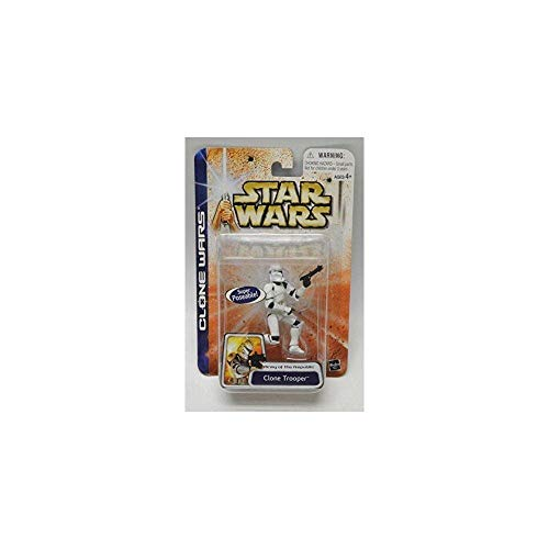 Hasbro Clone Trooper Army of The Republic Variante 1 - Star Wars Saga Clone Wars Collection 2003