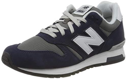 New Balance Herren 565 Sneaker, Blau (Pigment), 46.5 EU