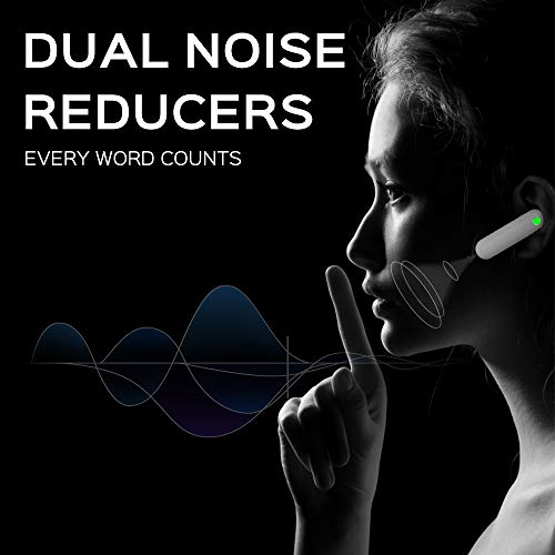 WT2 Language Translator - Supports 36 Languages & 84 Accents, Voice Translator Earbuds, Wireless Bluetooth Translator with APP, Real Time Translation, Suitable for iOS & Android with Charging Case