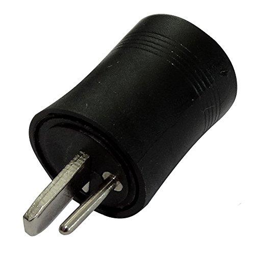 AERZETIX: 5X Conector Enchufe DIN 2 Pines Macho para recintos Altavoces C19574