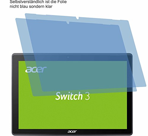 4ProTec I 2X ANTIREFLEX matt Schutzfolie für Acer Switch 3 SW312-31 Bildschirmschutzfolie Displayschutzfolie Schutzhülle Bildschirmschutz Bildschirmfolie Folie