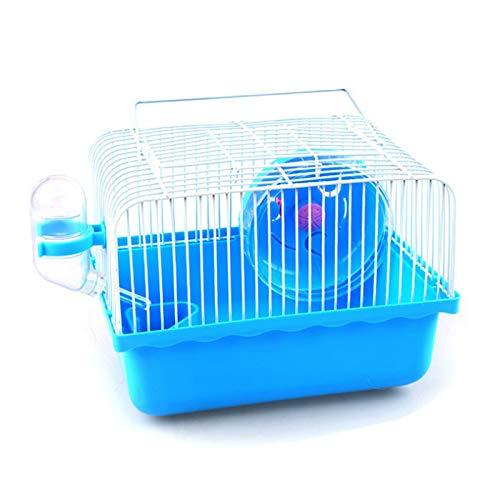 Gabbia per criceti,Criceto Habitat Hamster Cage Gabbia per Animali Piccoli Gabbia per Criceti Trasparente...