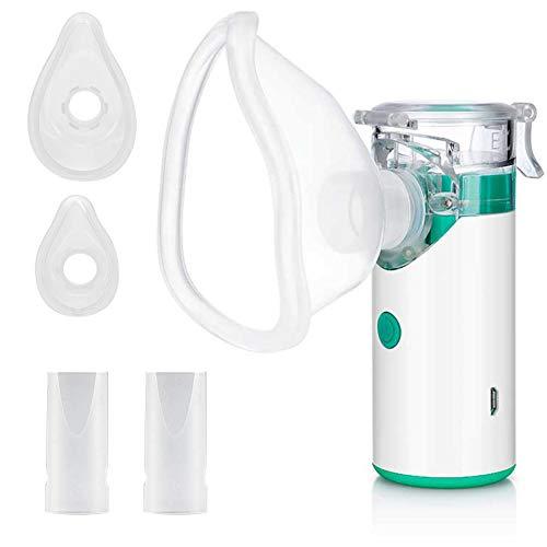 Nébuliseur Inhalateur, Rechargeable Nébuliseur Silencieux, Mini...