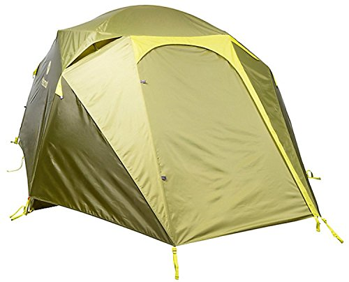 Marmot Limestone 4P, lichtgewicht tent voor 4 personen, 4 man trekking tent, camping tent, absoluut waterdicht