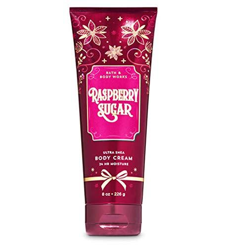 Bath & Body Works Raspberry Sugar 2019 Edition Ultra Shea Body Cream 24 hr Moisture 8 oz / 226 g