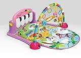 Musik Erlebnisdecke mit Spielbogen und Piano, Spieldecke, Krabbeldecke, Spielmatte, Baby Decke...