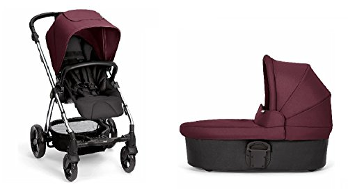 Great Deal! Mamas & Papas Sola2 Stroller with Carrycot (Mulberry)