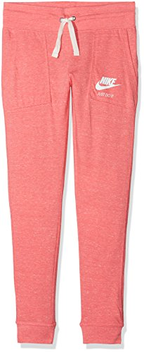 Nike Mädchen Sportswear Vintage Hose G Nsw Vntg, Rosa (Sea Coral/Sail), Medium