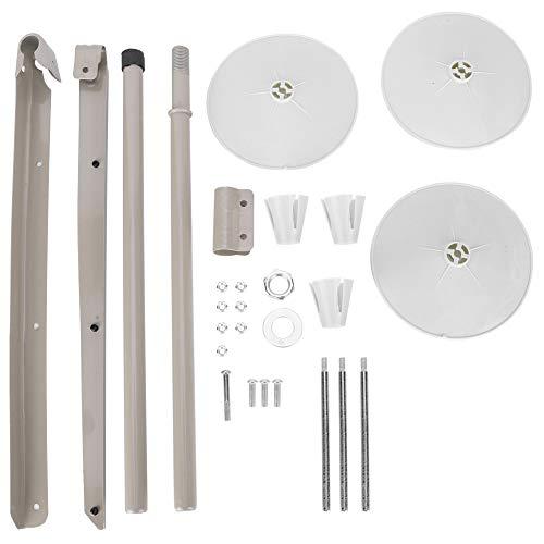 【 】Soporte de hilo para máquina de coser, soporte de hilo para máquina de coser, duradero para máquina de coser industrial de modista(3-wire)