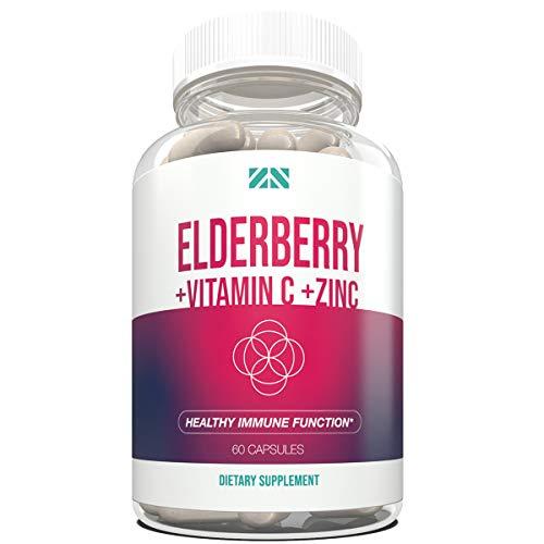 Elderberry+Vitamin C+Zinc - Supp...