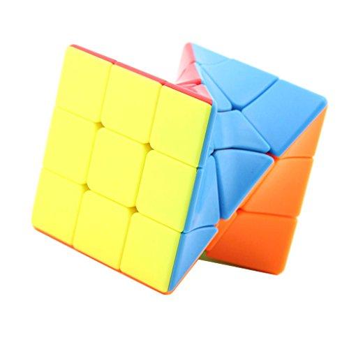 F Fityle 3x3x3 Cube Smooth Cube Puzzle Juguete de Inteligencia para Niños