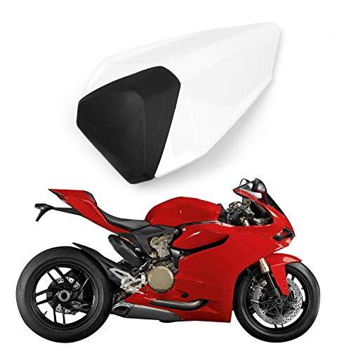 Artudatech Motorrad Soziusabdeckung Sitzkappe Verkleidung Heckabdeckung Rücksitzbezug Rear Seat Cowl Fairing Tail Cover für DUCA-TI 899 1199 Panigal 2012-2015