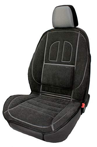 RIMERS Velours Auto Sitzauflage Autositzmatte Sitzmatte Sitzbezüge Graphit 1Stk