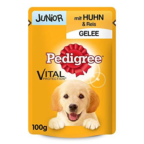 PEDIGREE Vital Protection Portionsbeutel Junior mit Huhn und Reis in Gelee 24 x 100g
