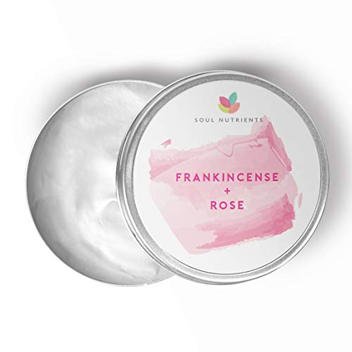 Frankincense & Rose Cream- Paraben, SLS & SLES Free- Cruelty Free- Refill- 50g