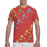 Abogado Judge Hammers Camiseta de Corte clásico Camiseta Deportiva de Manga Corta