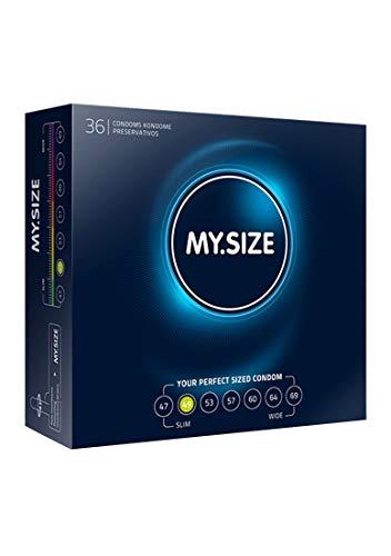 My.Size Kondome Größe 2, 49 mm, Großpackung (36 Stück)
