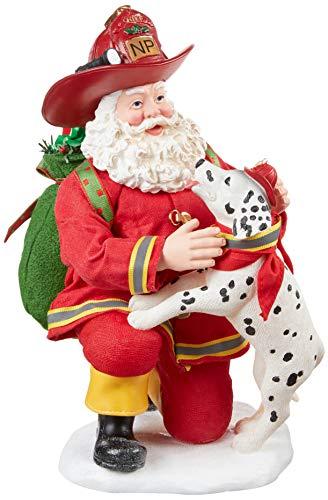 Department 56 Possible Dreams Santa Sports and Leisure North Pole Company Figurine, 9.5 Inch, Multicolor