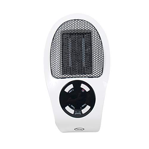 Minicalefactor eléctrico – Calefacción práctica – 500 W – Calefacción práctica –...
