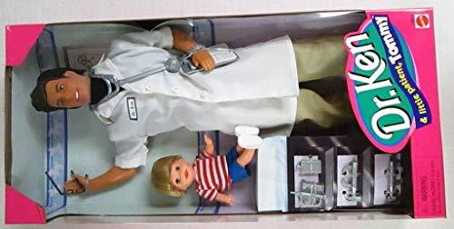 Dr. Ken & Little Patient Tommy Barbie Doll Set