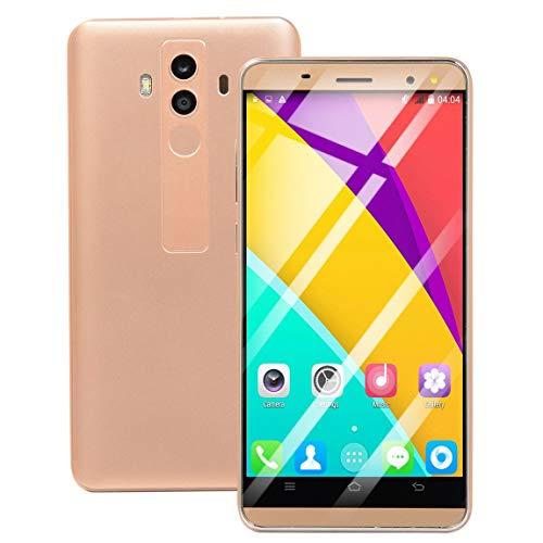 73JohnPol Mate10 Pro 5.0 Pulgadas 4G Network 854 * 480 teléfono móvil para Juegos Dual SIM 512M + 4G Smartphone para Android para OS 5.1 y (Color: Dorado)