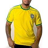 Camiseta deportiva Direct Ronaldo Brasil 98 – Réplica Fútbol 1998 (S)