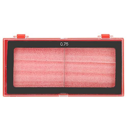 Accesorios para soldador, lente de aumento de vidrio de soldadura estable razonable para corte por plasma para soldadura protectora para reemplazo de soldadura por arco(0.75)