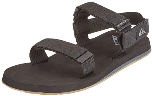 Quiksilver Monkey Caged, Zapatos de Playa y Piscina Hombre, Negro (Black/Grey/Brown Xksc), 43 EU