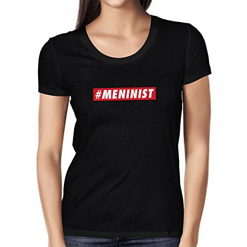 Texlab Meninist - Damen T-Shirt, Größe S, schwarz