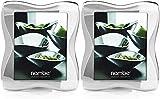 Nambe Bella Picture Frame, 8' x 10' Bundled Bella Picture Frame, 4' x 6'