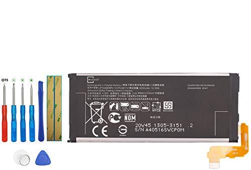E-YIIVIIL Batería de repuesto LIP1642ERPC compatible con Sony Xperia XZP XZ Premium G8141 G8142 con kit de herramientas
