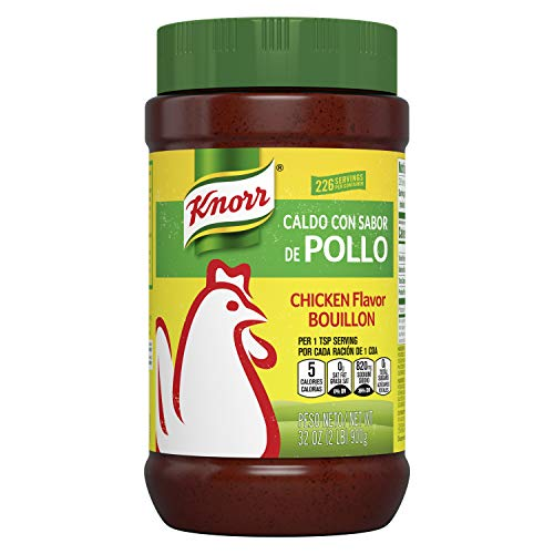 Knorr Granulated Bouillon Chicken 2.0 Lb, Pack Of 6