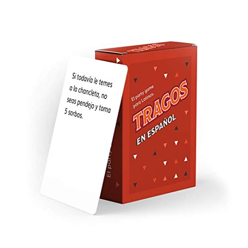 Tragos in Spanish - Card Game for Latinos- Relatable Funny Card Game for Adults - (Spanish Version)